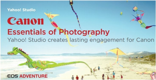 CASE STUDY: Yahoo! Studio creates lasting engagement for Canon