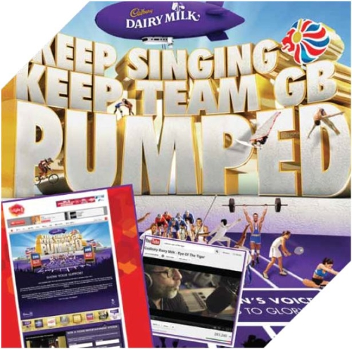 CASE STUDY: Keep singing, keep team GB pumped.