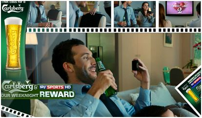 CASE STUDY: Carlsberg & Sky Sports: Your Weeknight Reward