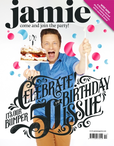 Cross media opportunities across the Jamie Oliver portfolio