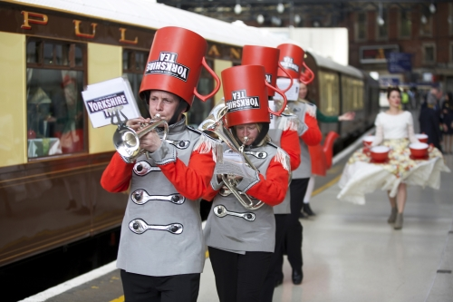 CASE STUDY: Yorkshire Tea : Tea On The Train