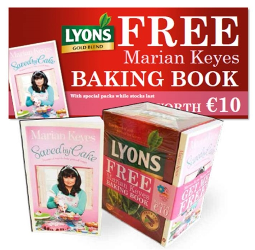 CASE STUDY: Lyons Tea and Marian Keys on pack promotion