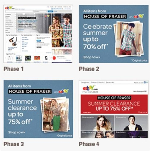 CASE STUDY: House of Fraser increase consumer awareness via eBay
