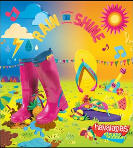 CASE STUDY: Raising awareness of Havaianas with festival goers