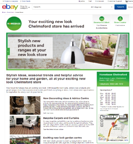 CASE STUDY: Homebase Increase Store Footfall via eBay Campaign