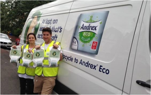 CASE STUDY: Upcycle to Andrex® Eco