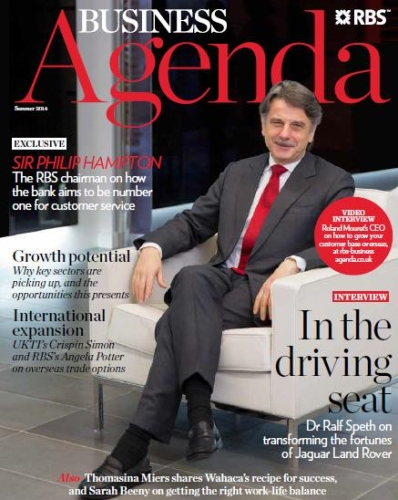 Advertising opportunities in RBS Business Agenda Magazine
