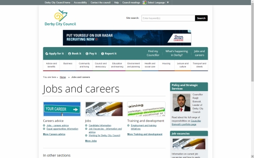 Advertise on .gov.uk? You CAN reach job seekers.