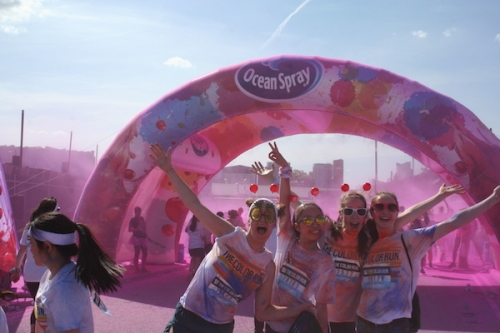 CASE STUDY: Ocean Spray re-launch brand with The Color Run