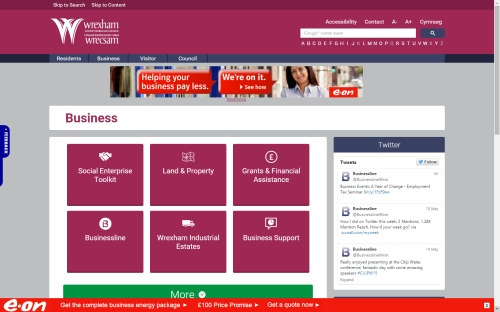 Advertise to Business Owners & Decision Makers on .gov.uk