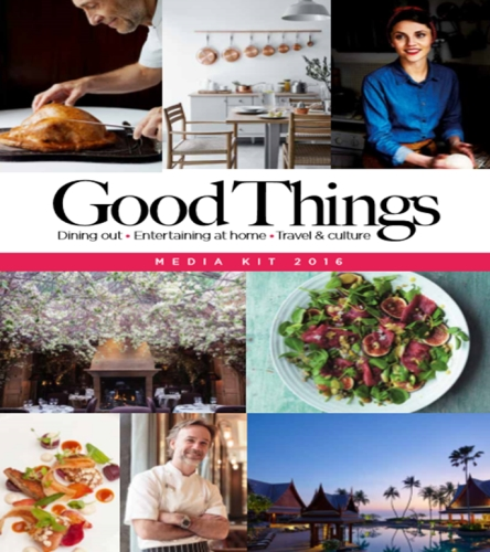 Advertising opportunities with Good Things magazine