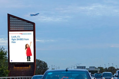 Advertise on the UK's premium digital out-of-home billboards