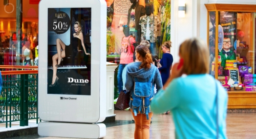 CASE STUDY: Dune seek to measure the impact of mall advertising
