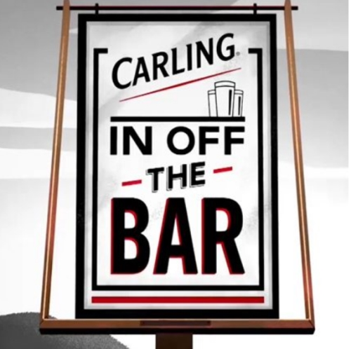 CASE STUDY: Carling In Off The Bar