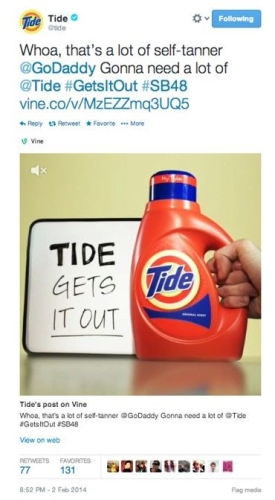 CASE STUDY Tide create a valuable campaign around the Super Bowl