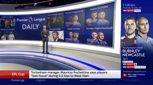 Sponsorship of Afternoons on Sky Sports News