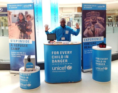 UNICEF Virtual Reality Roadshow