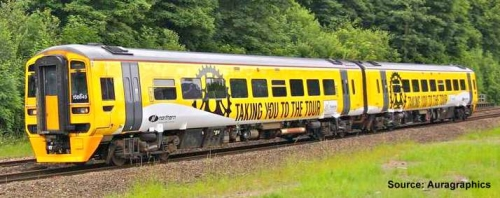 Advertise your Brand to Rail Commuters using Train Wraps