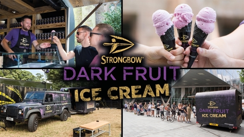 CASE STUDY: Strongbow Dark Fruit Ice Cream Tour