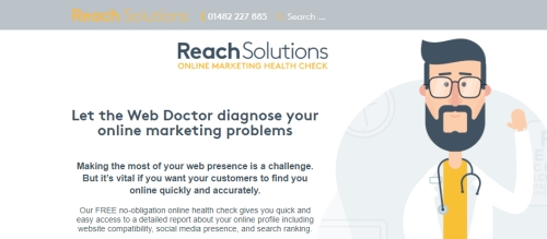 FREE Online Marketing Healthcheck with Reach Solutions