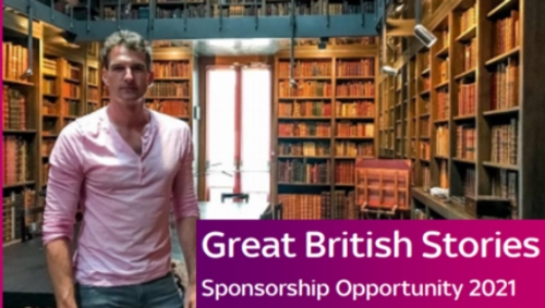 Sponsorship Opportunity - Great British Stories on Channel 5