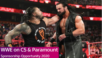 Sponsorship Opportunity - WWE on C5 & Paramount