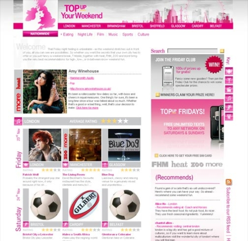 CASE STUDY: T-Mobile 'Top Up Your Weekend' Campaign