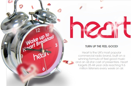 Advertise on Heart- the UK's Biggest Commercial Radio Brand