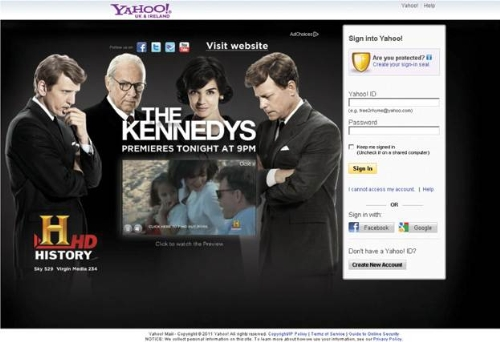 CASE STUDY: Yahoo! launches 'The Kennedys'